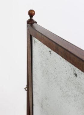Regency Mahogany Toilet Mirror