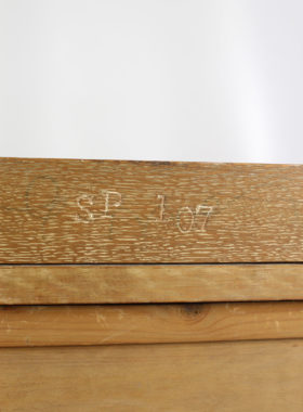Art Deco Limed Oak Chest Drawers