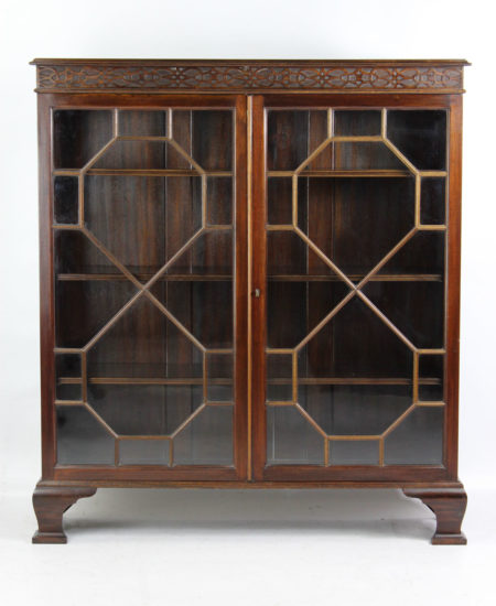 Small Edwardian Mahogany Bookcase