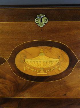 Regency Inlaid Mahogany Bureau