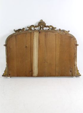 Victorian Giltwood Overmantle Mirror