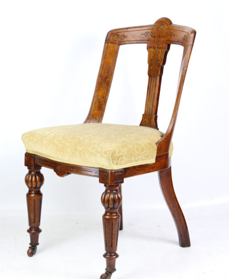Victorian Oak Desk Chair F Danby's Leeds