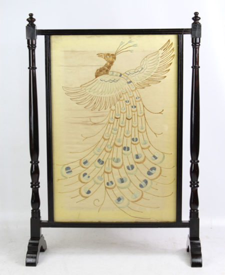 Victorian Aesthetic Movement Fire Screen