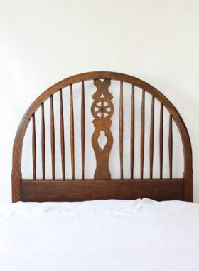 Heals Oak Single Bed
