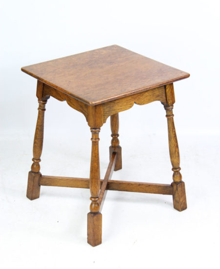 Arts and Crafts Oak Coffee Table