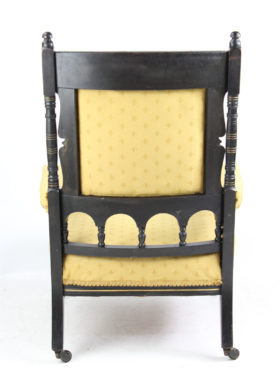 Aesthetic Movement Low Armchair