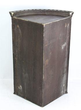 Georgian Mahogany Bow Front Corner Cupboard