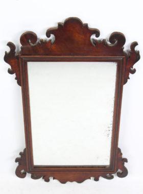 Georgian Mahogany fretwork Mirror
