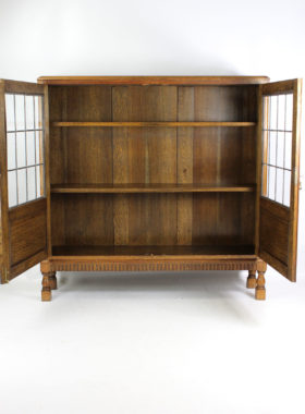 1930s Oak Bookcase
