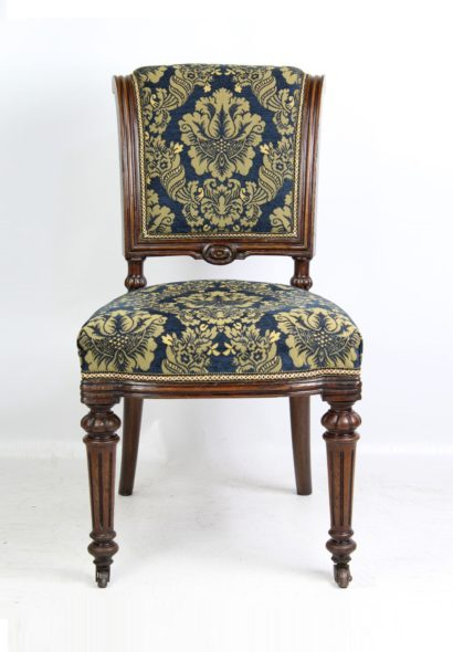 Victorian Oak Chair by John Taylor & Sons Edinburgh