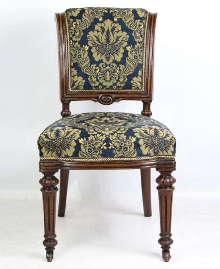 Victorian Oak Chair by John Taylor & Sons Edinburgh