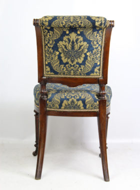 Victorian Oak Chair John Taylor and Sons