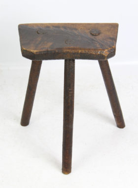Antique Sheffield Cutlers Stool