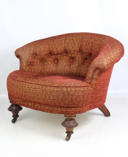 Victorian Rosewood Tub Chair