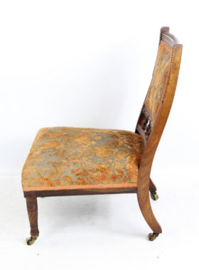 Gillows Victorian Rosewood Nursing Chair