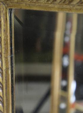 Edwardian Mahogany Gilt Mirror