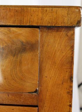 Antique Danish Biedermeier Mahogany Chest of Drawers