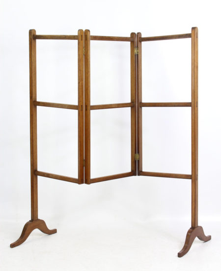 Antique Georgian Mahogany Folding Towel Rail