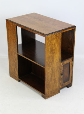 Art Deco Oak Coffee Table