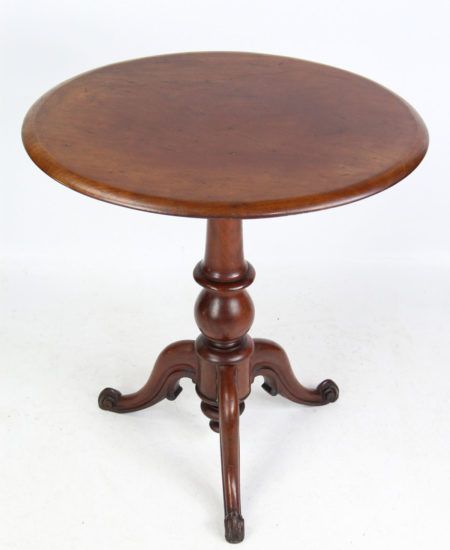 Victorian Mahogany Tripod Table