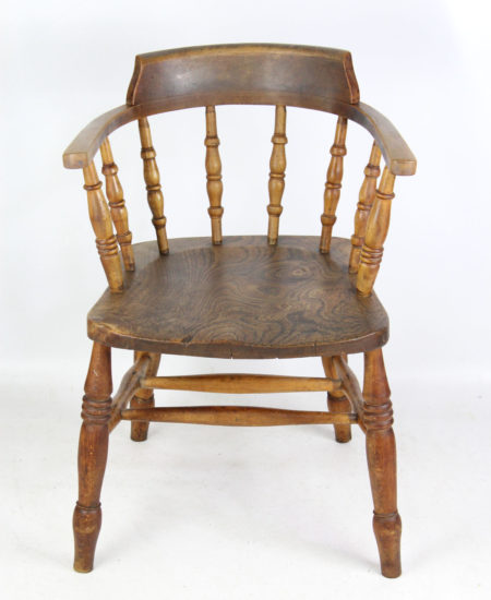 Elm Captains Chair
