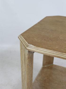 Limed Oak Art Deco Coffee Table