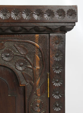 Carved Antique Spice Cupboard