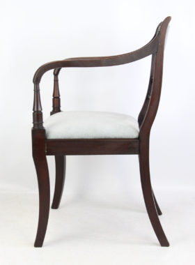Regency Mahogany Desk Chair