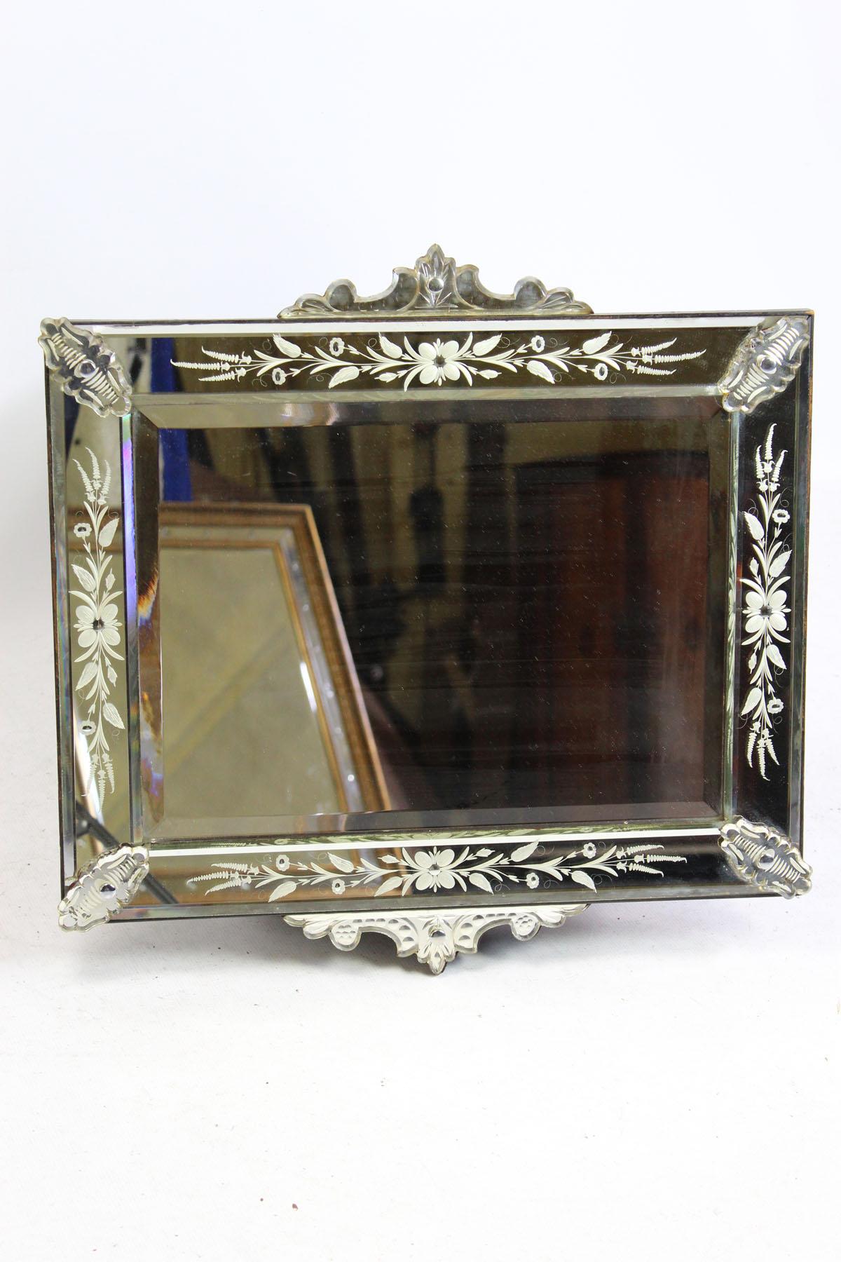 Antique 19th Century Venetian Mirror