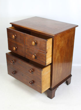 Georgian Commode Chest of Drawers