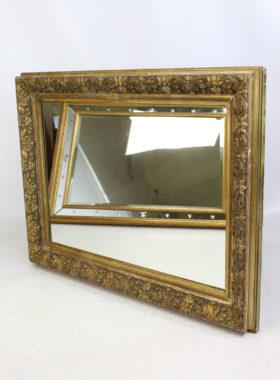 Edwardian Gilt Framed Wall Mirror