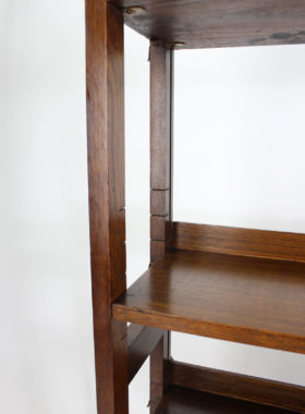 Heals Style Oak Open Bookcase