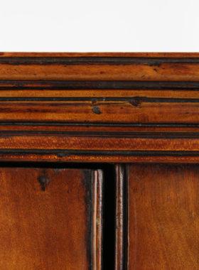 Georgian Fruitwood Corner Cupboard