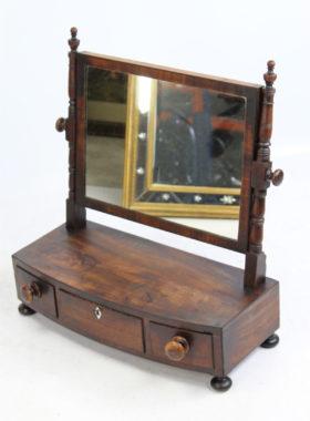 Antique Georgian Toilet Mirror