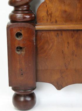 Victorian Mahogany Headboard