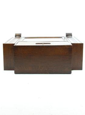Art Deco Oak Bureau