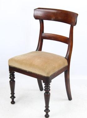 Pair Victorian Mahogany Chairs