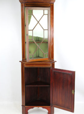 Edwardian Corner Cabinet