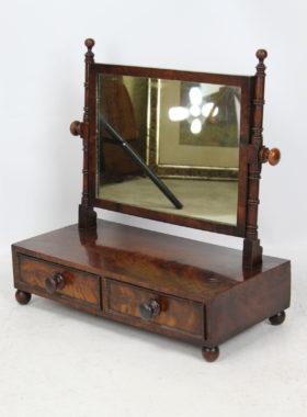 Antique Regency Toilet Mirror