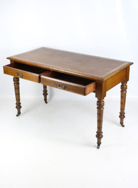 Victorian Oak Writing Desk