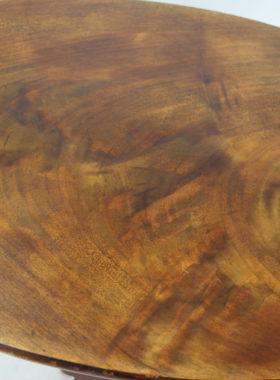 Edwardian Mahogany Oval Side Table