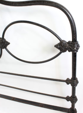 Victorian Cast Iron Bed