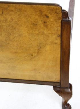 Art Deco Walnut Double Bed