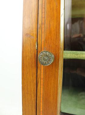 Edwardian Inlaid Mahogany Music Cabinet