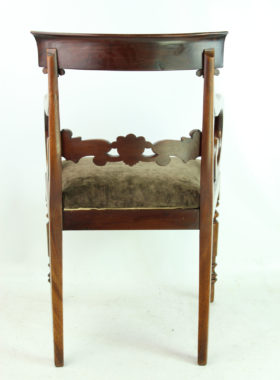 William IV Mahogany Desk Chair