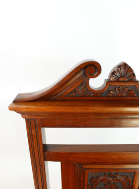 Late Victorian Hall Chair