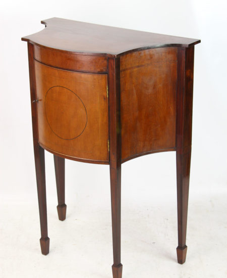 Small Edwardian Mahogany Side Cabinet