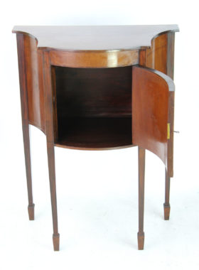 Small Edwardian Mahogany Side Cabinet