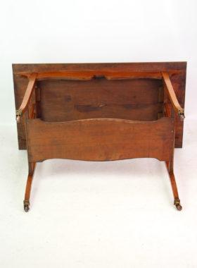 Edwardian Walnut Side Table