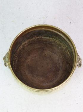 Brass Log Bin